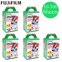 20 - 100 sheets Fuji Fujifilm instax mini 9 8 films white Edge films for instant mini 9 8 7s 25 50s