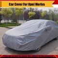 Cubierta del coche Auto exterior Anti ultravioleta arañazos Protector de cubierta del coche cubierta para Opel Meriva All Season adecuado