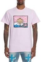 핑크 돌고래 남성 아크 플러스 T 셔츠 핑크
