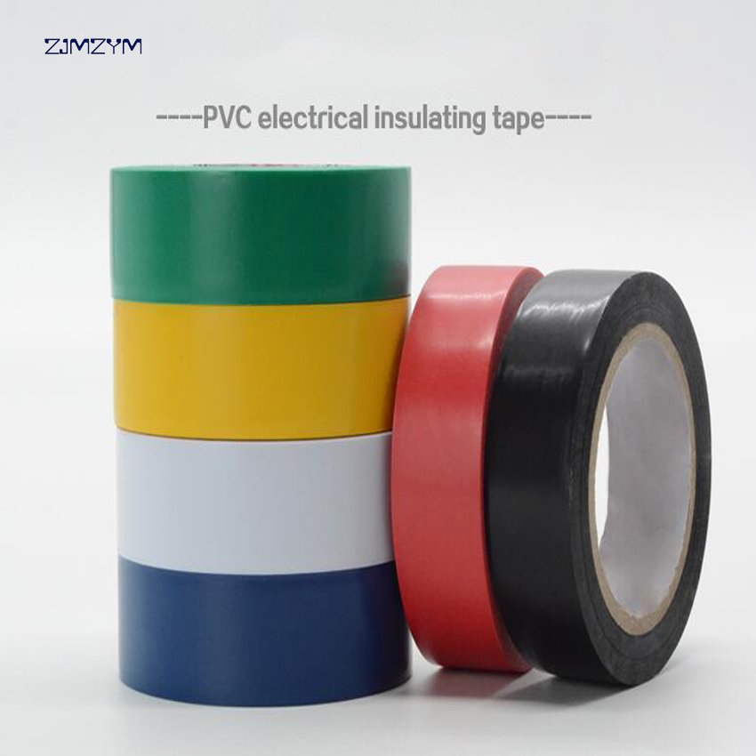1PC 6 colors 16mm*10y(9.2M) waterproof insulation electrical tape electrical flame retar ...