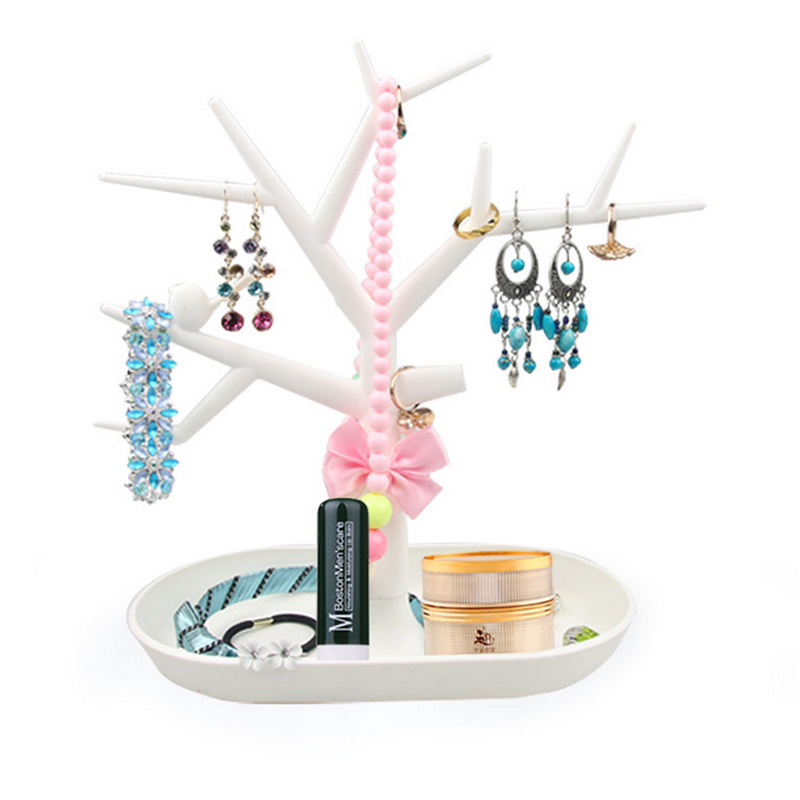 Display Jewelry Organizer Show Rack Jewelry Necklace Ring Earring