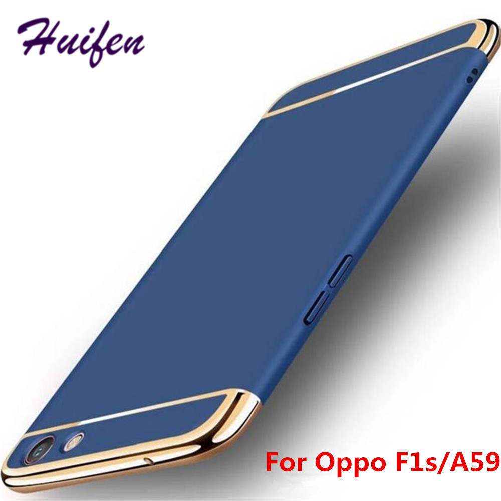 the best attitude 03247 92a17 For OPPO Find X/OPPO F1s/A59 Case Luxury Business 3 in1 Phone Protective  Cover For OPPO F1s Case Find X F7 F5 R11S Plus (Z417)