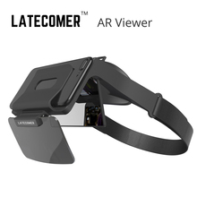Latecomer AR Viewer Mobile AR 3D smartphone glasses virtual reality VR helmet film game unmanned aerial vehicle shot view Viewer