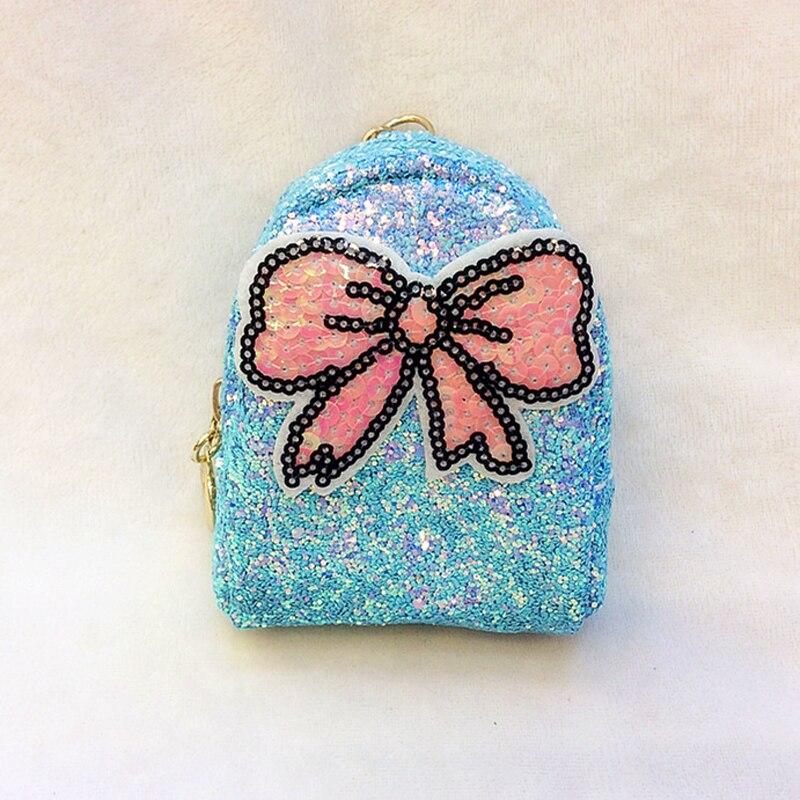 f08b5e1319 BONAMIE Fashion Women Sequin Bowknot Coin Purse Wallet Small Paillette Girl  Key Pouch Bag Unique Lady Clutch Bag Mini Money Bags