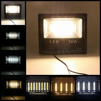 SZYOUMY 50 W 100 W الأبيض/مزدوجة اللون الشمسية كشاف إضاءة خارجية ليد Led الكاشف تعمل بالطاقة الشمسية مصباح إضاءة حديقة التحكم عن بعد