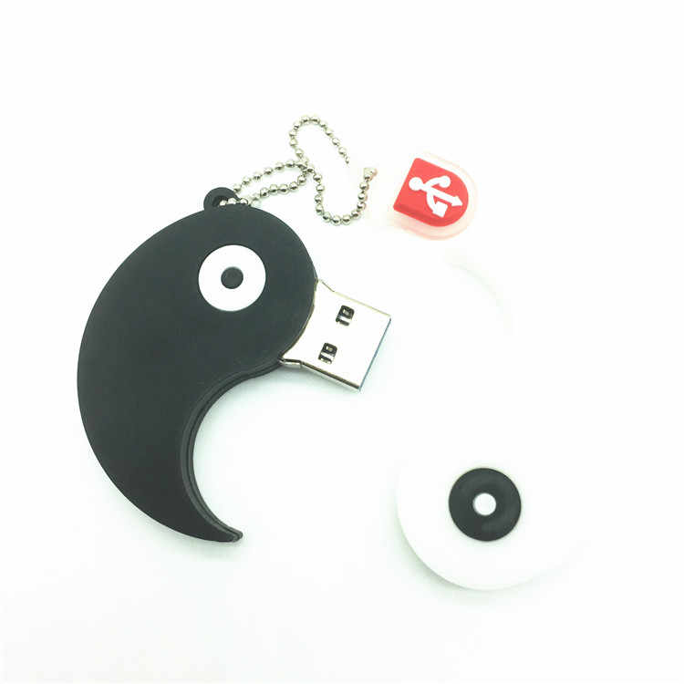 2018 New USB Ổ Đĩa Flash Bút Ổ Đĩa Phim Hoạt Hình Đồ Chơi Gossip Yin-yang 4 gb 8 gb 16 gb 32 gb 64 gb USB 2.0 Memory Stick U Đĩa Ổ Usb
