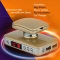 2017 Новая Музыка Bluetooth Car Kit Автомобильное зарядное устройство Громкой Fm Передатчик Bluetooth Aux Телефон Держатель Для Всех Телефонов