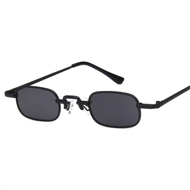 US $3.76 48% OFF|YOOSKE Rectangle Retro Sunglasses Men Women Small Sun Glasses Fashion Designer Steampunk Glasses Male Vintage Eyeglassses UV400|Men's