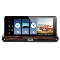VODOOL 7 Car DVR Camera 3G Touch GPS DVR Dual Lens Bluetooth Rearview Mirror Android 5