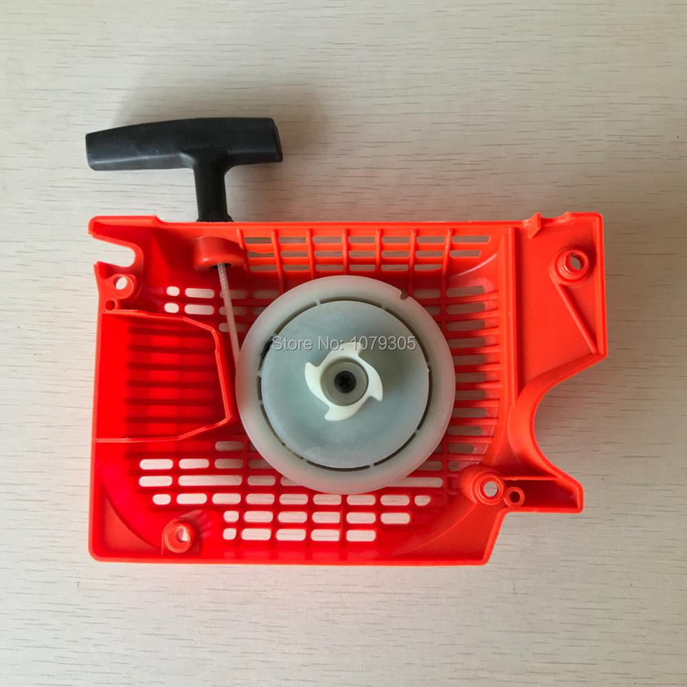 Easy Starter Assembly With Two Springs & Big Pulley For Chain Saw Chainsaw 5800