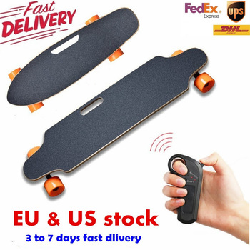 Ship from USA warehouse Four Wheel Electric Scooters Boost Electric Skateboard Wireless Remote Controller Scooter Plate Board 1