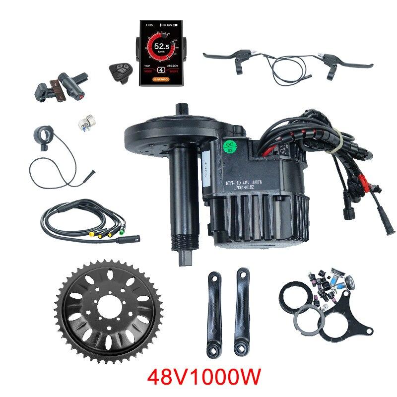 Bafang BBS01 BBS02 BBS03/BBSHD Mi Moteur D'entraînement 36 V 250 W/350 W/500 W 48 V 500 W/750 W/1000 W Vélo Électrique/Vélo kit de conversion vélo électrique - 4