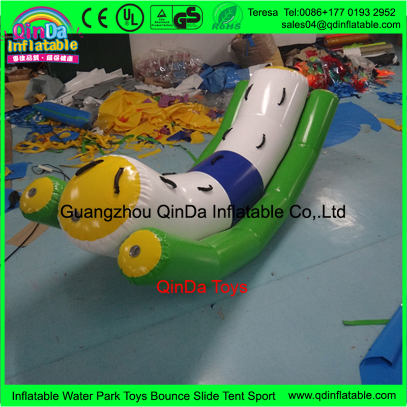 inflatable water tube seesaw16