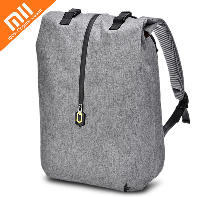 8565ba8338b8 Original Xiaomi Water-resistant Padded 20L Leisure Backpack 14 inch Laptop  Bag Multi-layer Storey Bags for Tanlet Wallet Phone