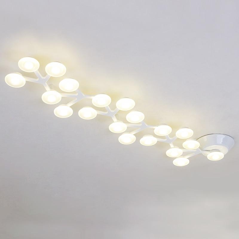 Moderne Home-Deco-Wohnzimmer minimalistischen LED-Baum Deckenleuchte - Innenbeleuchtung - Foto 4