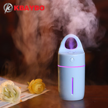 180ML USB Humidifier Ultrasonic Humidifier Air Aroma Diffuser Mist Maker, Essential Oil diffuser of Home and Car
