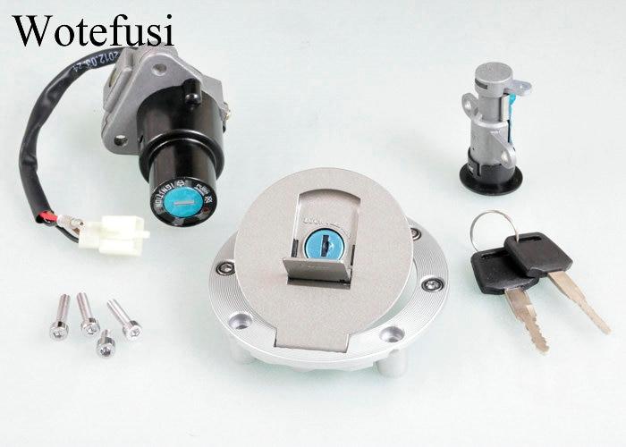 Wotefusi Замок зажигания топливная газовая крышка с ключом для Yamaha TZR 125 TZM 150 TZR 150 [P534]