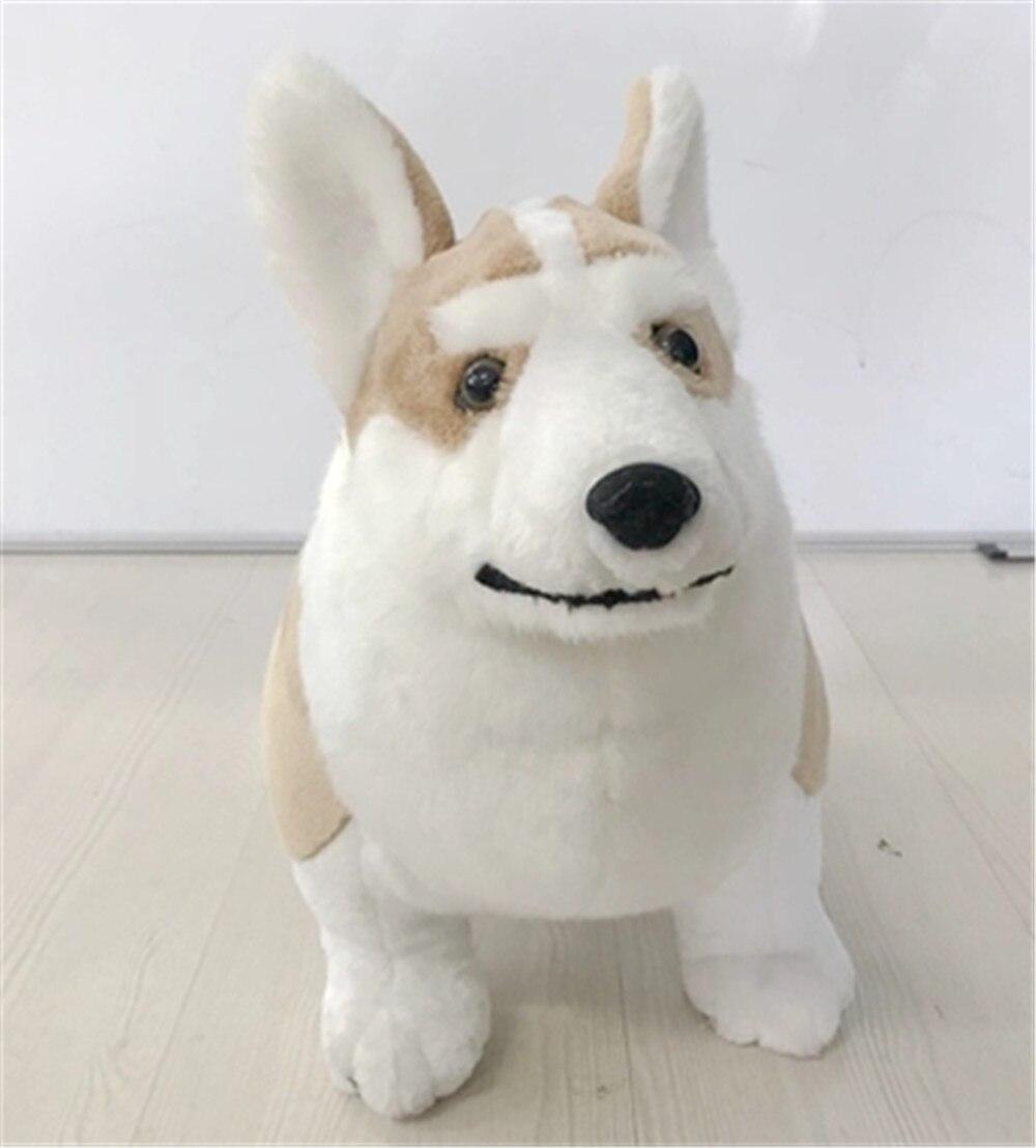 Fancytrader имитация плюша корги собака игрушка для детей большой реалистичное качество животные собака кукла 50 см 20 дюймов - Высота: 50cm 20inch