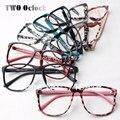 Moda Óculos de Impressão Mulheres Leopardo Enquadrar Ultra-leve Óculos Frames Decore Óculos Sem Lentes de óculos 2016 Moda Oculos luneta