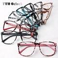 Mujeres Estampado de Leopardo de moda Decorar Marcos de Las Lentes Gafas de Marco ultraligero Gafas Sin Lente 2016 Moda Oculos luneta