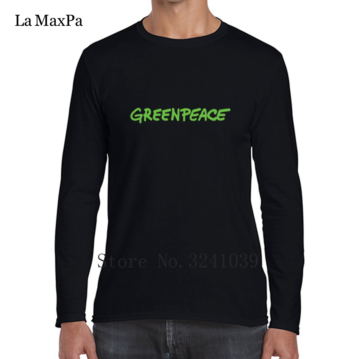 Us 17 42 12 Off La Maxpa Make Your Own Custom Greenpeace Novelty Men Tee Shirt 2018 Regular T Clothes Round Collar Tshirt Large In Shirts