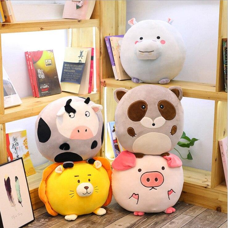 Creative nouveau vers le bas coton forêt collecte hippopotame