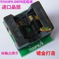 TSSOP8 в DIP8 AdapterTL866A TL866CS программист адаптер TSSOP8 в DIP8 IC Тест Гнездо адаптера 0.65 мм Шаг