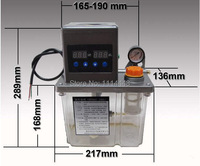 220vac 전기 자동 윤활 펌프 오일 펌프 2l cnc 펌프 듀얼 디지털 전자 타이머