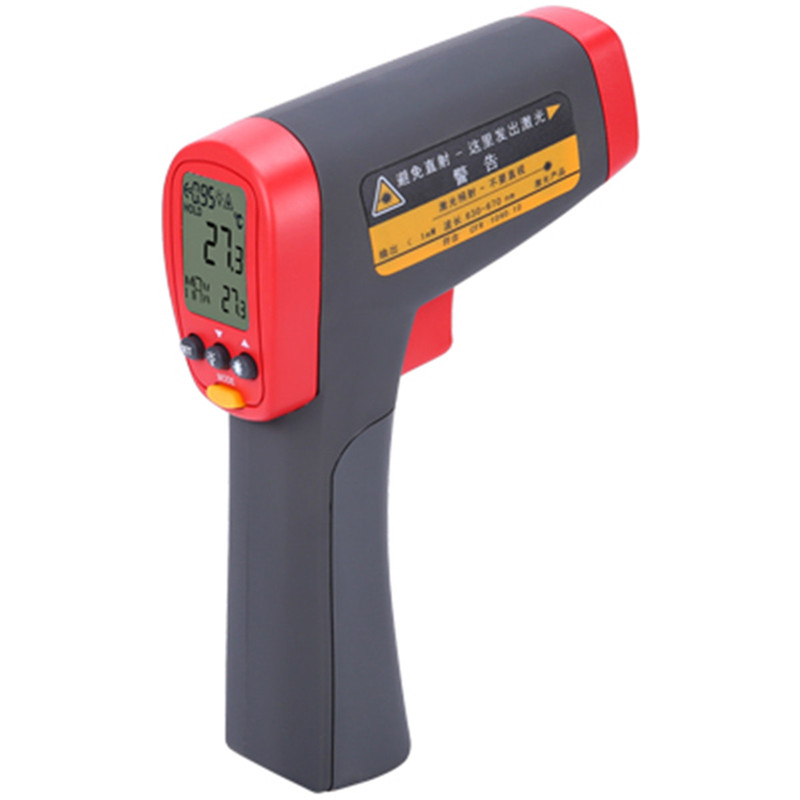 UNI-T industrial Thermometer UT301C digital Infrared Temperature meter 18~550C Non-contact infrared thermometer gun new uni t ut302b 32 550 c 20 1 infrared thermometer