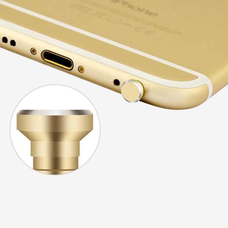 """אלומיניום סגסוגת טלפון 3.5 מ""""מ אוזניות ג 'ק אבק Plug 2in1 כרטיס ה-sim מגש הוצא פין כלי Dustproof כובע גאדג' ט iPhone 6 6 s 5S 5"""