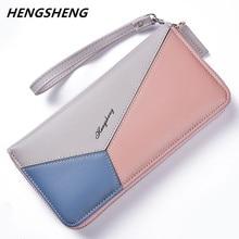 e58e3941d Nuevas mujeres carteras de gran capacidad embrague chequera billetera  titular de la tarjeta monedero para las mujeres de moda se.