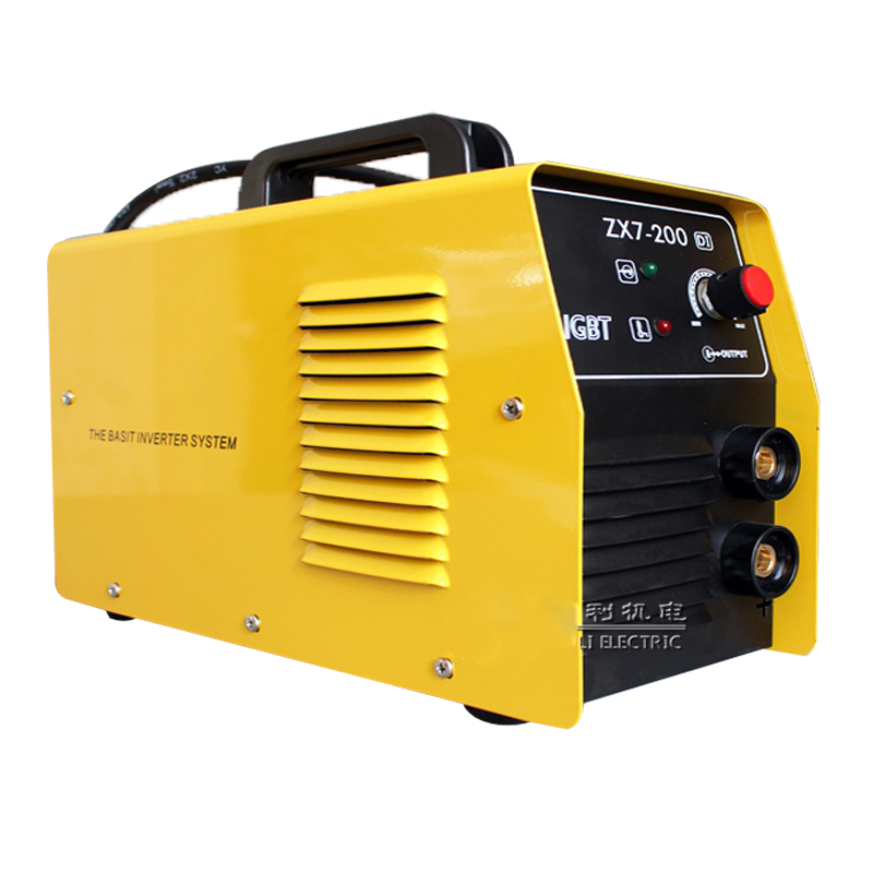 2016 New ZX7-200DI Welder copper core portable Household inverter dc manual arc welding machine Single-phase 220v household mini inverter welder simple welding machine for 2 5 electrode 220v