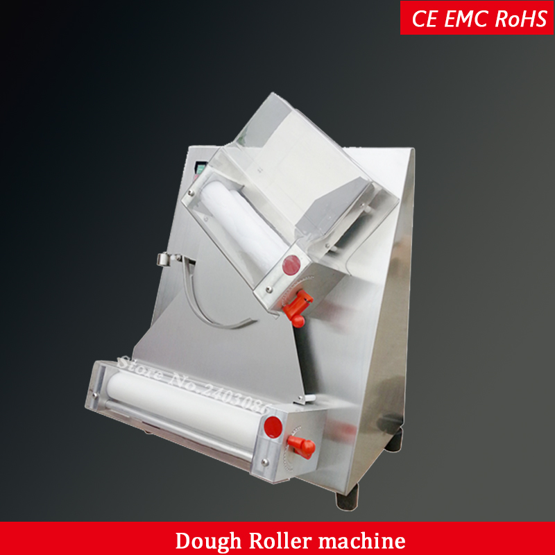 electric pizza dough roller machine 110V 220V 12 inch pizza dough sheeter CE RoHS pizza dough press machine food processor