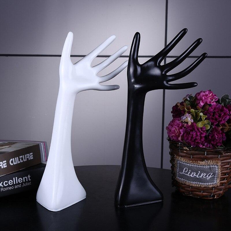 Mannequin Hand Finger Ring Bracelet Bangle Jewelry Display Holder Stand Jewelry Display Stand Holder