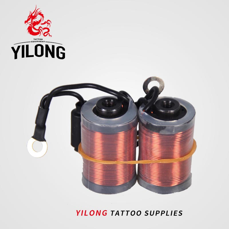 YILONG 10 wraps tattoo supply New Tattoo Machine Gun Coils 10 Wraps Set Parts Supply Tattoo & Body Art