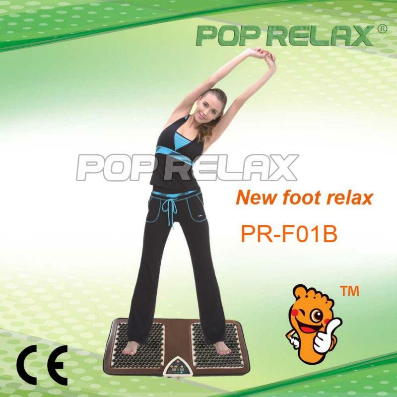 POP RELAX second heart Tourmaline foot massage mat PR-F01B CE pop relax negative ion magnetic therapy tourmaline mat pr c06a 55x120cm ce