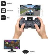 2.4g беспроводное устройство контроллер для PS3 телефона Android ТВ Box PC джойстик для Xiaomi OTG смартфонов игровой контроллер удаленного джойстика