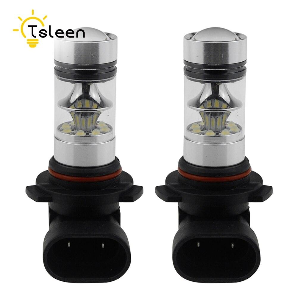 Cheap Free Shipping car-styling 1Pair=2pcs CREE LED Bulbs Car Kit H3 H4 H7 H11 HB3 White Headlight Replace Xenon Lamp