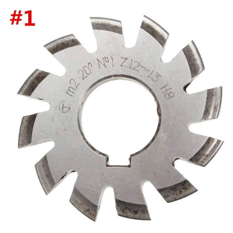 Diameter 22mm M2 20 Degree #1 Involute Module Gear Cutters HSS High Speed Steel NEW Machine Tools Accessories статуэтка involute