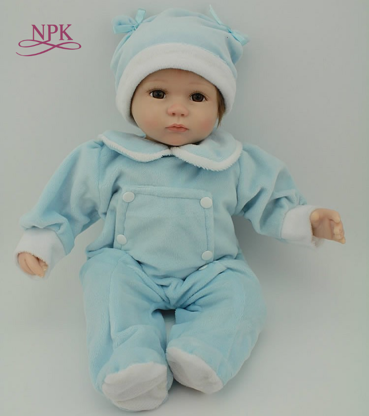 NPK lifelike reborn baby doll very popular fashion doll Birthday Present for girl real touch silicoen
