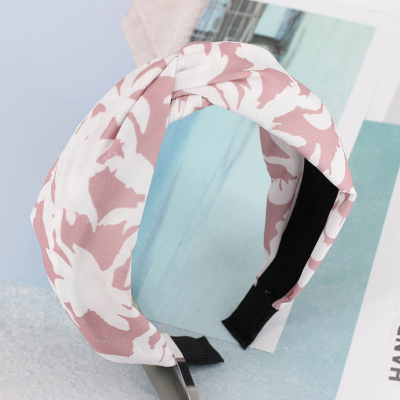 Twist Bezel Plaid Print Head Band for Women Girls Hairband Headband Vintage Twist   Headwear   3 Colors Hair Accessories