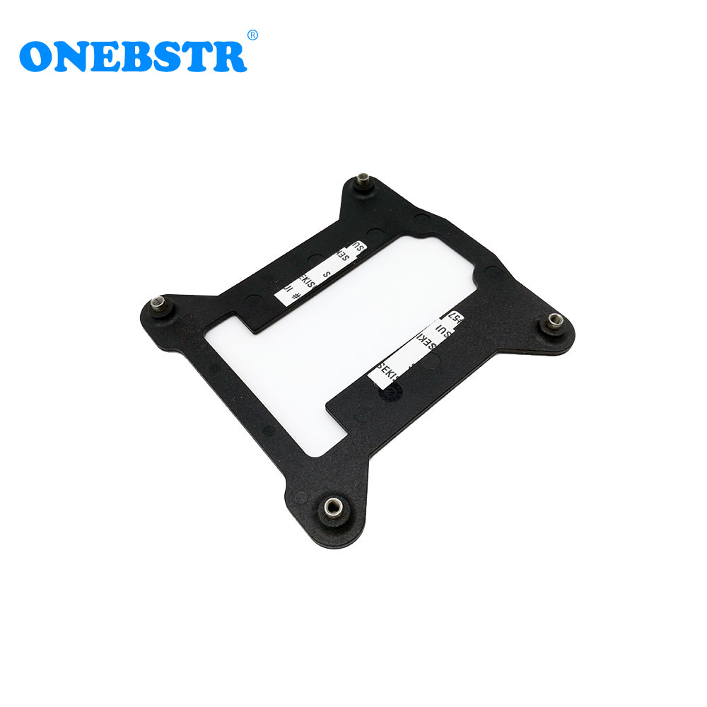 CPU Metal Water Cooler Bracket for LGAL 115X //1150//1155//1156 PC Backplate I5 I7