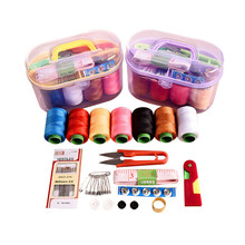 Treasure Box Home Multi-function Sewing Combination Kit Tools kit Large sewing tools New pattern QW029