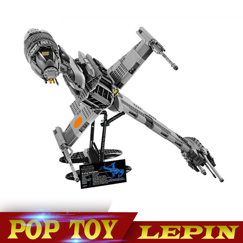Lepin 05045 Star 1487pcs Genuine War Series The B Starfighter wing Educational Building Blocks Bricks Toys 10227 for Gifts model битва богов 2018 12 12t15 00