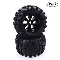 17mm HEX WHEEL & 170mm TIRES FOR RC 1/8 Monster Truck HPI Savage FLUX HSP Toy Car Model Accessories