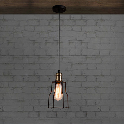 ФОТО Vintage Edison Pendant Lamps With one head Which Height Could be Adjusted Best Matching Indoor Dinning Room,Living Room,Bed room