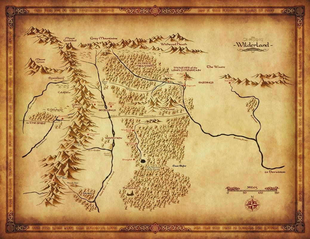 aliexpresscom buy map of middle earth lord of the rings fabric poster 32 x 24 decor 39 from reliable map of middle earth suppliers on poster printing