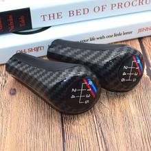 Carbon Fiber 5 6 Speed Manual Gear Stick Shift Lever For BMW E30 E32 E34 E36 E38 E39 E46 E53 E60 E63 E83 E84 E87 E90 5 6 speed real leather gear shift knob with m logo for bmw 1 3 5 6 series e30 e32 e34 e36 e38 e39 e46 e53 e60 e63 e83 e84 e87
