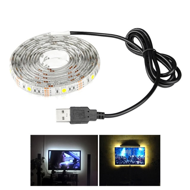 Waterproof 5050 5v usb led strip light for flat screen tv lcd waterproof 5050 5v usb led strip light for flat screen tv lcd desktop pc reduce eye mozeypictures Image collections