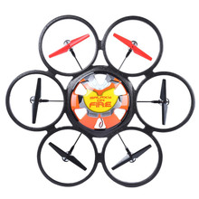 Dunia Terbesar V323 rc drone Quadcopter RC Quadrocopter UFO Remote Control Helikopter 80 cm 4CH Radio Besar dengan berkedip LED Drone